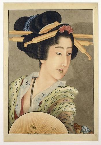 003- Portarretrato de una dama burguesa