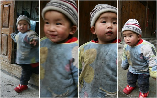 Cute kid, Lonji Terraces, China