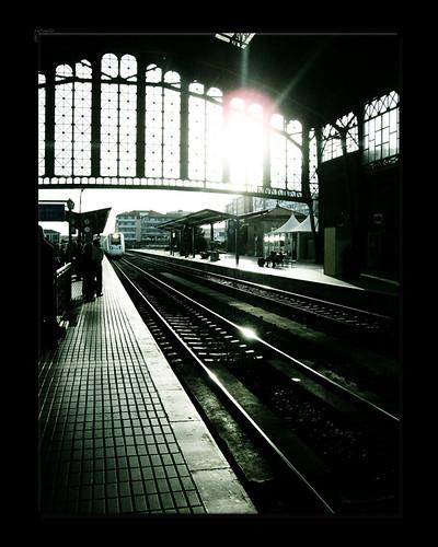 long train home