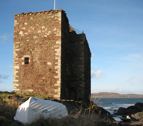 Portencross castle 17Jan09