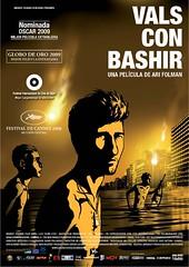 Poster Vals con Bashir
