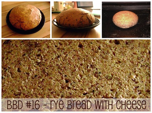 bbd#16 - rye bread with cheese