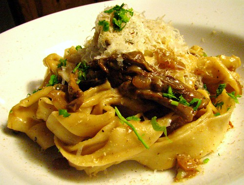 Pappardelle with Porcini Sauce