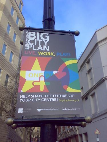 Dominc Campbel phot of Big City Plan poster Birmingham