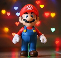 Happy Valentine's Day (david_a_l) Tags: love happy day heart bokeh shaped super mario valentines redux oneobject365daysproject bandofrebels 200945365