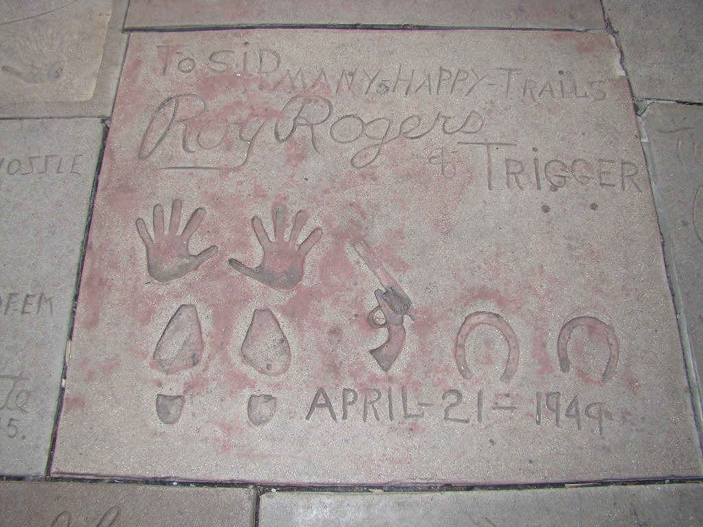 Roy Rogers and Trigger's Footprints