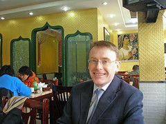 Graham, lunch near ICCAS
