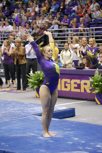 LSU Gymnastics Meet BABE THREAD | TigerDroppings.com