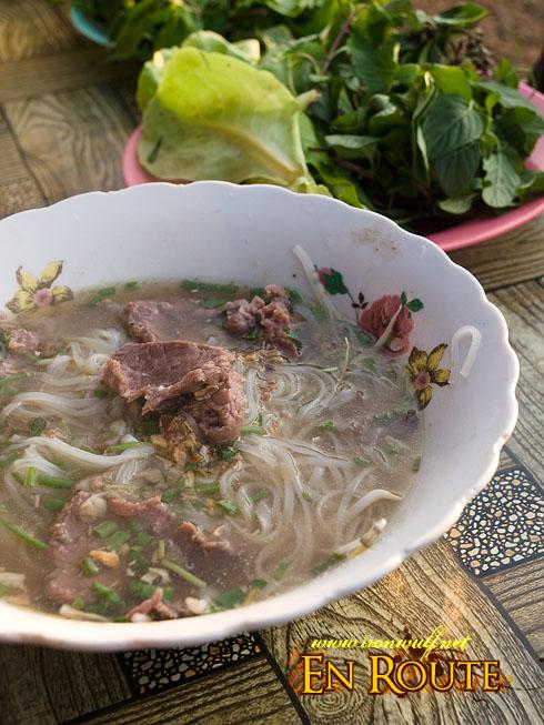 Laos Beef Foe Breakfast