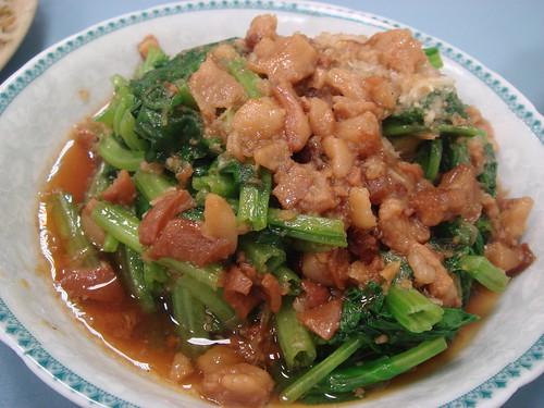 木火肉粽-燙青菜.JPG