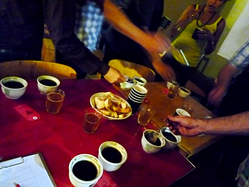 St Ali coffee cupping