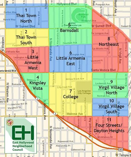East Hollywood (by: East Hollywood Neighborhood Council)