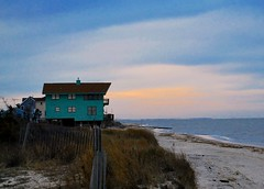 DSC_0044 (J3[Photo]) Tags: blue sky beach clouds bay sand delaware beachhouse primehook sussexcounty broadkill delawarebeach broadkillbeach