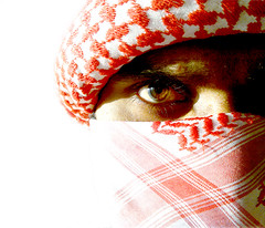Terrorist?? (alsay) Tags: portrait eye beautiful self nokia intense gun veil emotion muslim islam terrorist arabic vision arab hate hero angry bullet feeling hatred furious islamic dotcom phoneshot extremism amamah shemagh believers maldivian extereme jihadist unbelievers mashaallah n96 ghotra shimagh ghuraba kaafir mujahidh topsense