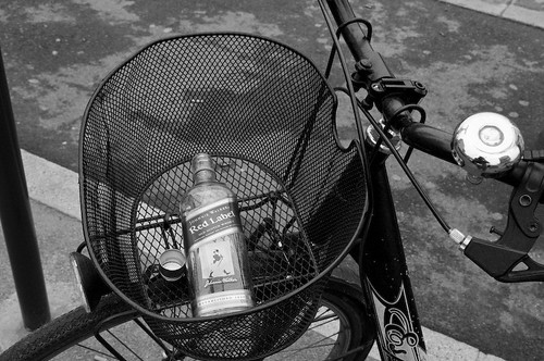 Johnnie Walker... in bicicletta