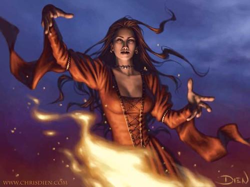 Melisandre by Chris Dien