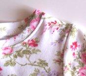 T-shirt Dress *Roses*  3/4
