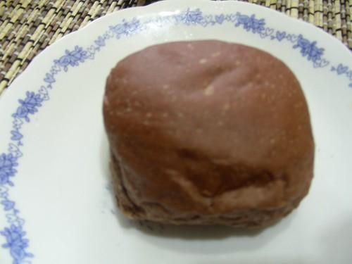 巧克力醬爆奶油麵包