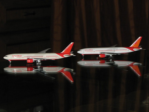 Air India B777-200/LR VT-ALB & VT-ALC
