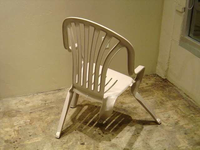 Convolute Lawn Chair
