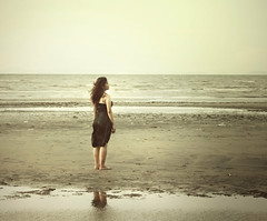 (anne()marie) Tags: black beach self anne dress philippines lowtide bacolod weeks 52 weinstock mirit aning missmi