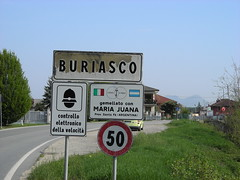 Buriasco twinned with? (Pinerolo, Piemonte, Italy) Photo