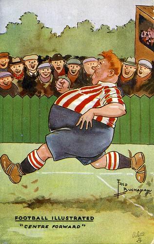 גלוית כדורגל משנות ה - 40