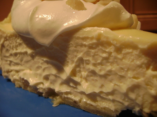 Daring Bakers April: Abbey's Infamous Cheesecake