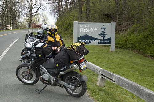 Startof the Blue Ridge Parkway