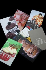 A few of My Moo Cards...I LOVE MOO! (Fields of Cake) Tags: moo businesscards