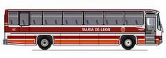 Maria De Leon Trans 42 MB 1625 (II-cocoy22-II) Tags: bus de mercedes benz maria philippines leon trans ilocos mb 42 laoag norte 1625