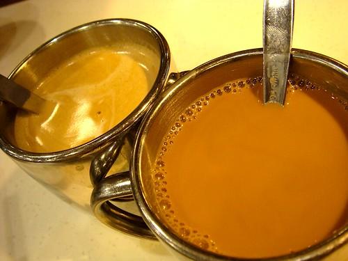 woman234 拍攝的 澳門茶餐廳(鴛鴦、咖啡)。