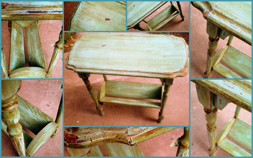 Old Writing Table (Collage 1)