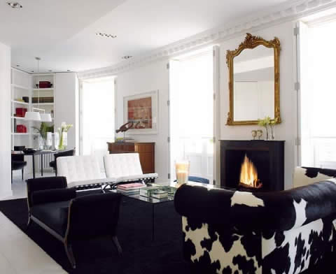 Black White Scandinavian House Interior Design | Home and House Design