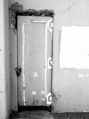 Zombies in There (T.L.A.) Tags: sanfrancisco california door urban landscape bayarea sausalito