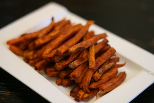 Chipotle Cinnamon Sweet Potato Fries recipe