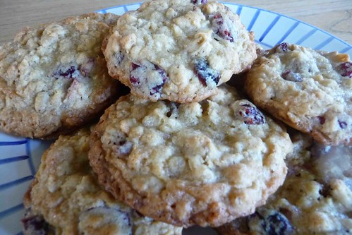 Oatmeal & Dried Cranberry Cookies