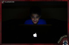 My New Baby ][ MacBook Pro  ][ (Mohammed Al-Adsani ) Tags: blue black apple book mac pro abdullah   macbook    aladsani