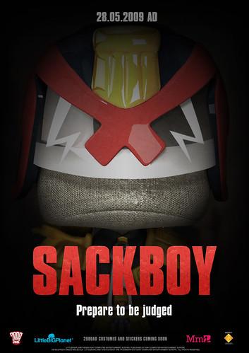 LittleBigPlanet Sackboy poster