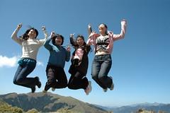 DSC_1352 (Ming - chun ( very busy )) Tags: sky green girl landscape nikon women d70 taiwan   grassland                 14