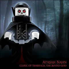 Atasah Nahn  Cleric of Tenerach, The Bound God (Morgan190) Tags: halloween canon scary lego powershot creepy minifig custom a510 minifigure canona510 morgan19