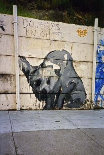 1990s Dog graffiti 5