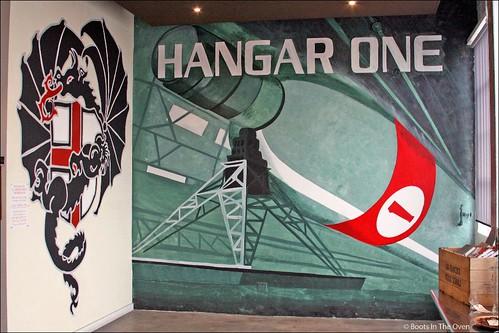 Hangar One Mural at St. George