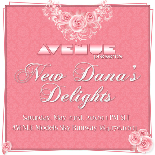 New Dana's Delights Invite