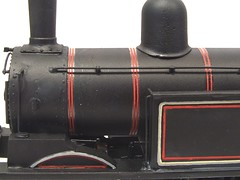 boiler bands on the loco