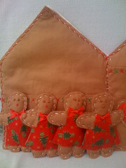 Gingerbread Card Holder.