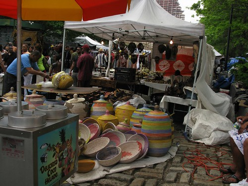 afro-caribbean pastels @ Dance Africa Street Festival
