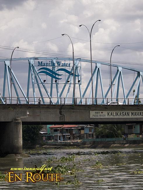 Lambingan Bridge in Sta Ana
