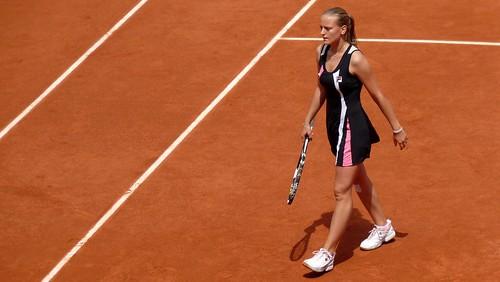 Agnes Szavay - Agnes Szavay - 3ème tour de Roland Garros 2009 - tennis french open
