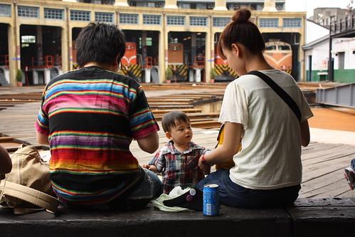 一對日本夫婦跟小孩